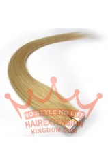 20pcs Remy Tape 16inches Human Hair Extensions Ash Blonde(#24)